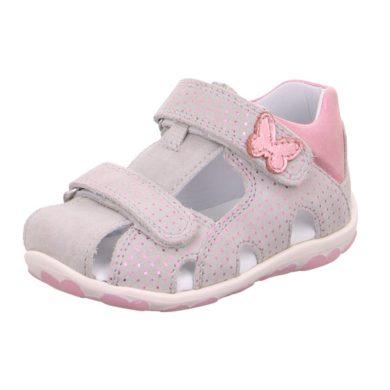 Superfit Dívčí sandály FANNI, Superfit, 0-609041-2500, šedá