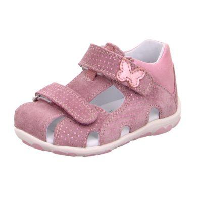 Superfit Dívčí sandály FANNI, Superfit, 0-609041-9000, růžová