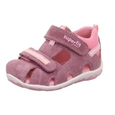Superfit Dívčí sandály FANNI, Superfit, 0-600036-9000, růžová