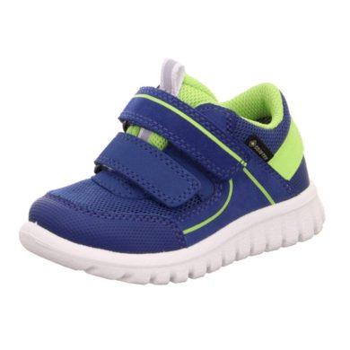 Superfit Dívčí celoroční obuv SPORT7 MINI GTX, Superfit,  0-606197-8100, modrá