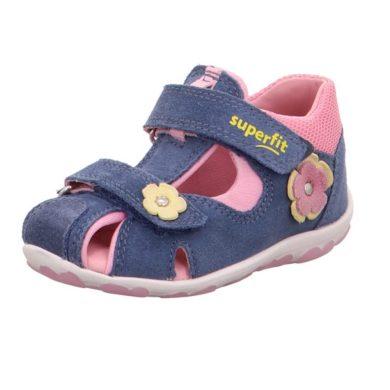 Superfit Dívčí sandály FANNI, Superfit, 0-609037-8000, modrá