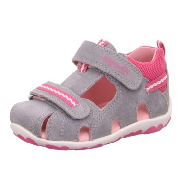 Superfit Dívčí sandály FANNI, Superfit, 0-600036-2500, šedá