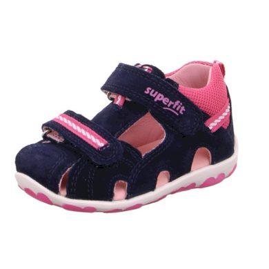 Superfit Dívčí sandály FANNI, Superfit, 0-600036-8000, tmavě modrá