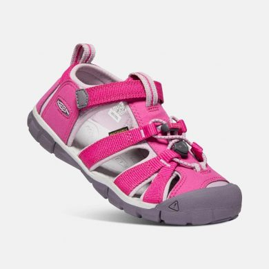 Keen Dětské sandály SEACAMP II CNX, VERY BERRY/DAWN PINK, keen, 1022994/1022979/1022940, růžová