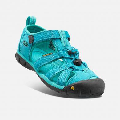 Keen Dětské sandály SEACAMP II CNX, BALTIC/CARIBBEAN SEA, keen, 1012555/1012550, modrá