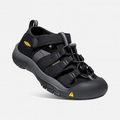Keen Dětské sandály NEWPORT H2, BLACK/KEEN YELLOW, Keen, 1022838/1022824/1022540, černá