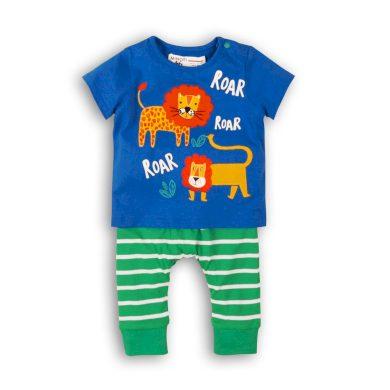 Minoti Kojenecký set chlapecký - tričko a kalhoty, Minoti, Turtle 6, kluk