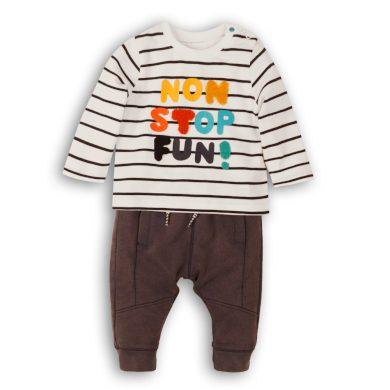 Minoti Kojenecký set - tričko a kalhoty, Minoti, Leaf 4, kluk