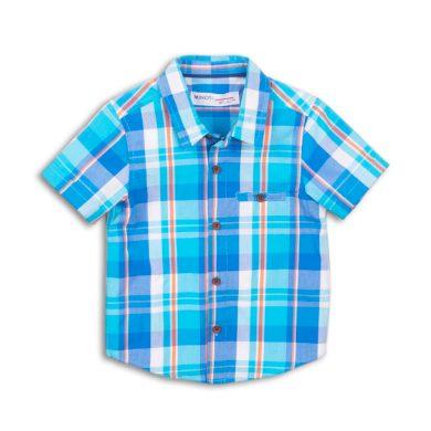 Minoti Košile chlapecká s krátkým rukávem, Minoti, Jeep 5, modrá