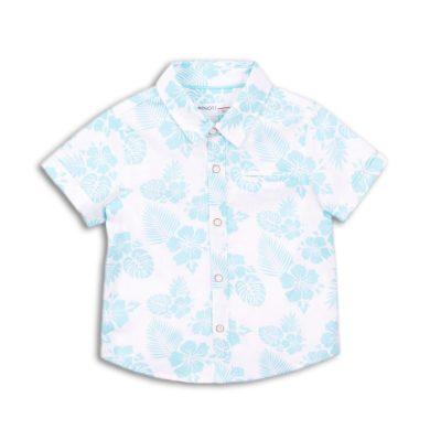 Minoti Košile chlapecká s krátkým rukávem, Minoti, Seek 1, bílá