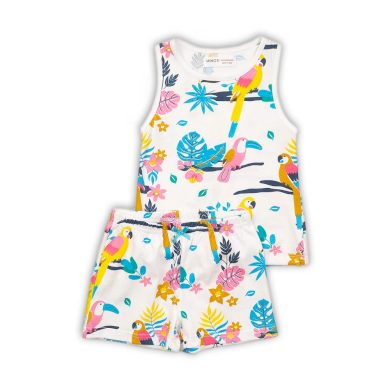 Minoti Pyžamo dívčí krátké, Minoti, PYJA 35, holka