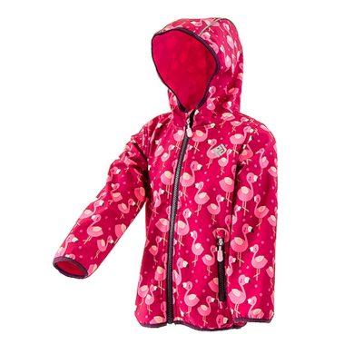 Pidilidi dívčí softshellová bunda s potiskem a pevnou kapucí, PiDiLiDi, PD1072-01, holka