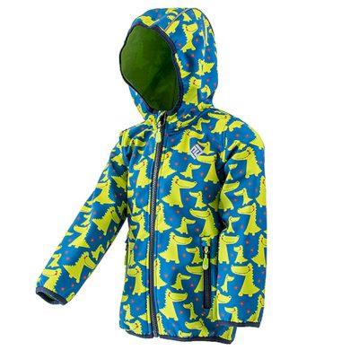 Pidilidi chlapecká softshellová bunda s potiskem a pevnou kapucí, PiDiLiDi, PD1072-02, kluk