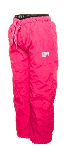 Pidilidi kalhoty sportovní dívčí podšité fleezem outdoorové, Pidilidi, PD1075-03, růžová