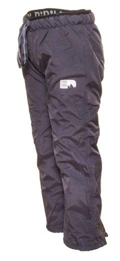 Pidilidi kalhoty sportovní chlapecké podšité fleezem outdoorové, Pidilidi, PD1075-09, šedá