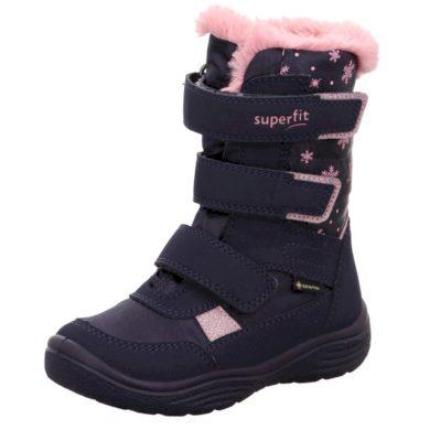 Superfit zimní boty dívčí CRYSTAL GTX, Superfit, 1-009092-8000, modrá