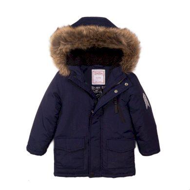Minoti Kabát chlapecký prošívaný Pufa, Minoti, Crown 1, modrá