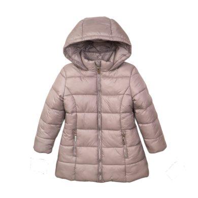 Minoti Kabát dívčí prošívaný Puffa, Minoti, JW2126, stříbrná