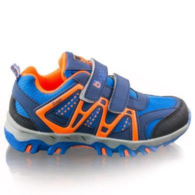 Bugga chlapecké outdoorové softshellové boty AKONI, Bugga, B00163-04, modrá