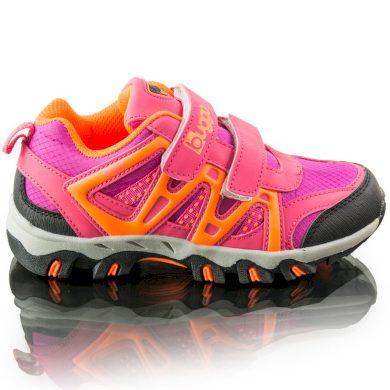 Bugga divčí outdoorové softshellové boty AKONI, Bugga, B00163-03, růžová