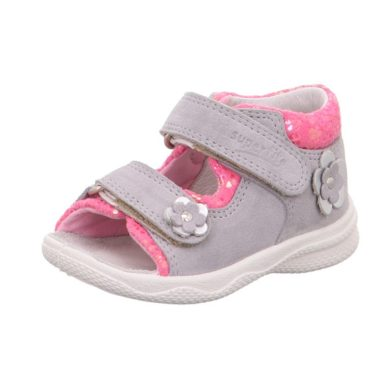 Superfit dívčí sandály POLLY, Superfit, 0-600095-2500, šedá