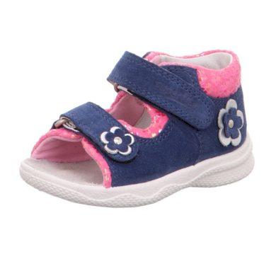 Superfit dívčí sandály POLLY, Superfit, 0-600095-8100, modrá
