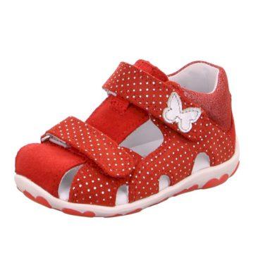 Superfit Dívčí sandály FANNI, Superfit, 0-609041-5000, červená