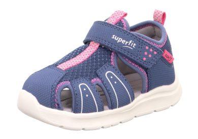 Superfit dětské sandály WAVE, Superfit, 1-000478-8020, modrá