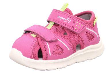 Superfit dětské sandály WAVE, Superfit, 1-000479-5500, růžová