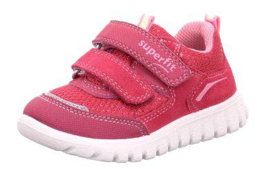 Superfit dětské celoroční boty SPORT7 MINI, Superfit, 1-006194-5000, červena