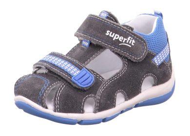 Superfit chlapecké sandály FREDDY, Superfit, 1-600140-2500, šedá