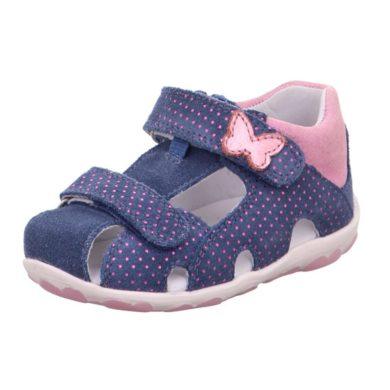Superfit dívčí sandály FANNI, Superfit, 1-609041-8010, modrá