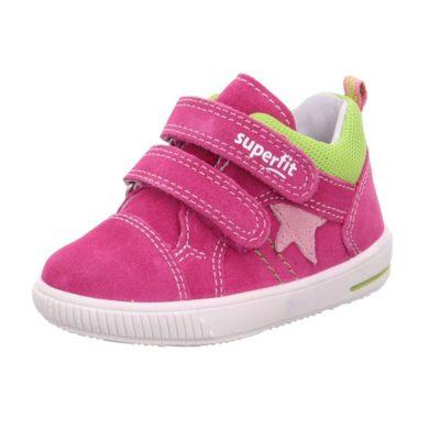 Superfit dětská celoroční obuv MOPPY, Superfit, 1-609352-5510, růžová