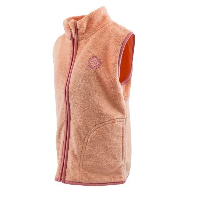 Pidilidi vesta dívčí chlupatá, Pidilidi, PD1094, oranžová
