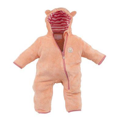 Pidilidi overal dětský fleezový chlupatý, Pidilidi, PD1095, oranžová