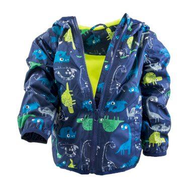 Pidilidi chlapecká jarní/podzimní bunda s potiskem a kapucí, Pidilidi, PD1092, modrá