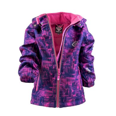 Pidilidi bunda softshellová dívčí s kapucí, Pidilidi, PD1089-03, holka