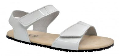 Protetika dámské barefoot sandály BELITA 01, Protetika, bílá lesklá