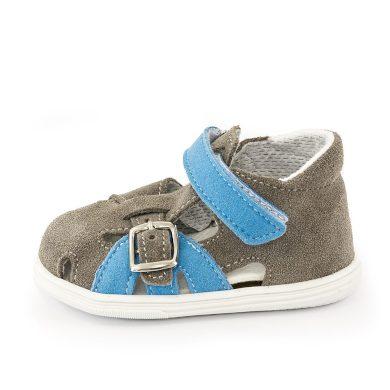 JONAP dětské sandály J009/S šedá/modrá, Jonap, šedá