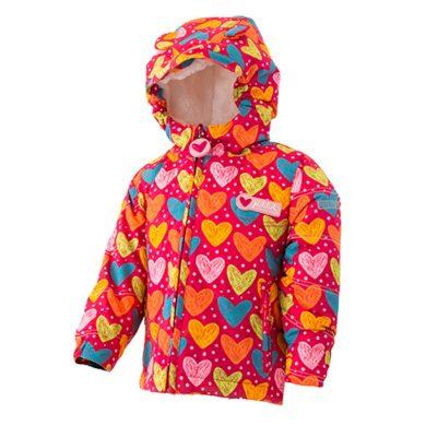 Pidilidi bunda zimní dívčí s kožíškem, Pidilidi, PD1081-01, Holka