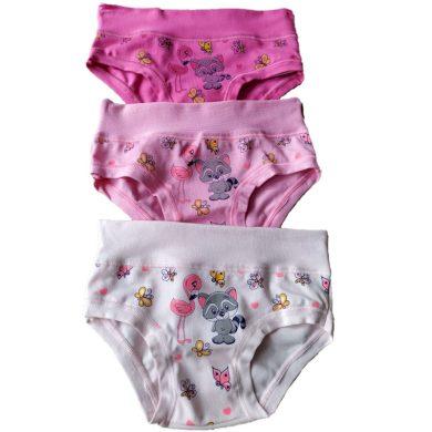 Dívčí kalhotky Emy Bimba 2344 - 3ks