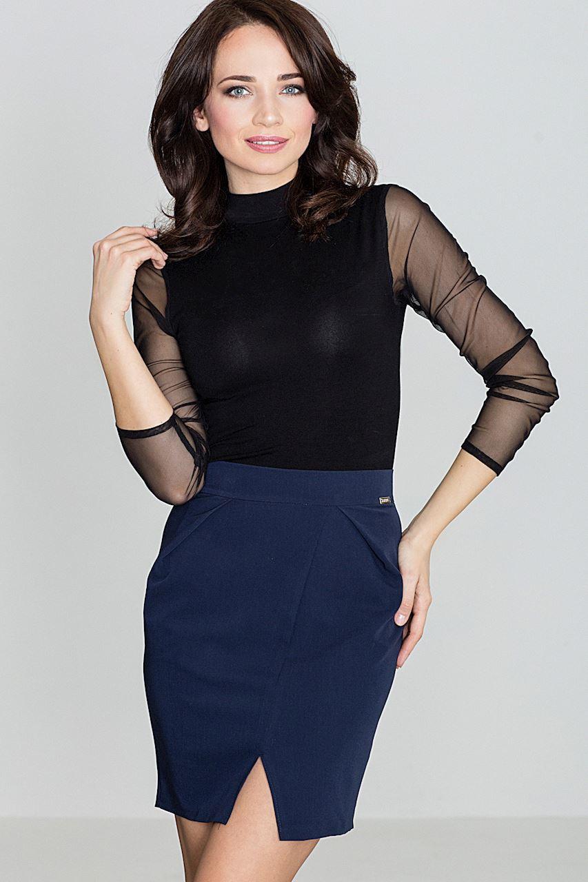 Dámská tmavě modrá sukně K389 Velikost: M