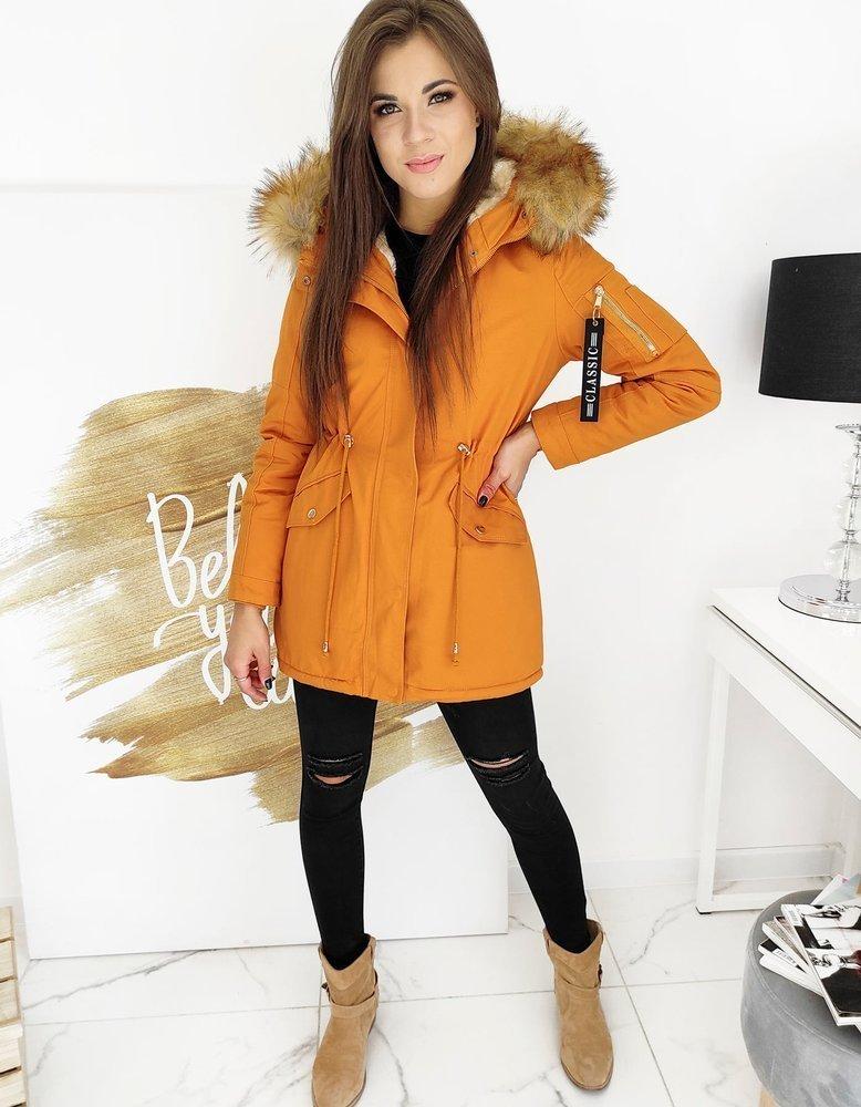 STEEPS Žlutá dámská zimní bunda TY1519 Velikost: L