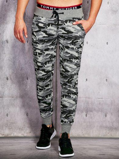 Pánské středně šedé teplákové kalhoty 60916002-gray Velikost: XS
