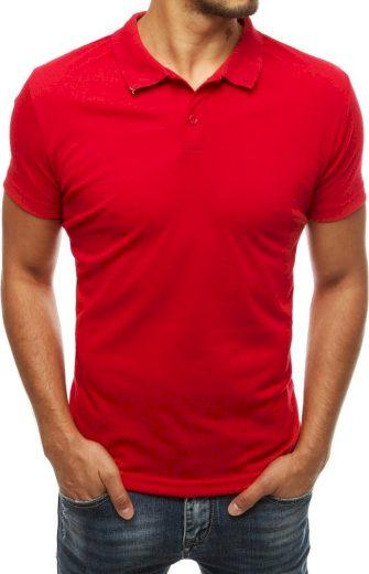 Pánská červená polokošile (PX0312) Velikost: L