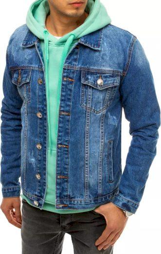 Modrá pánská džínová bunda TX3641 Velikost: 3XL
