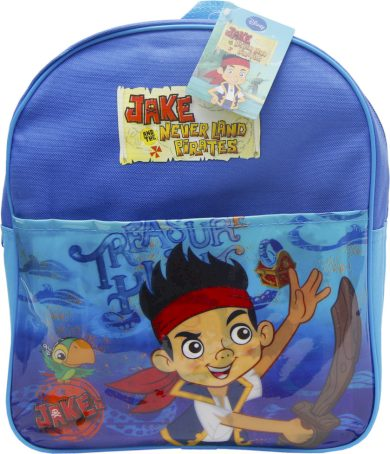 JAKE AND THE NEVER LAND PIRATES MODRÝ BATOH Velikost: ONE SIZE
