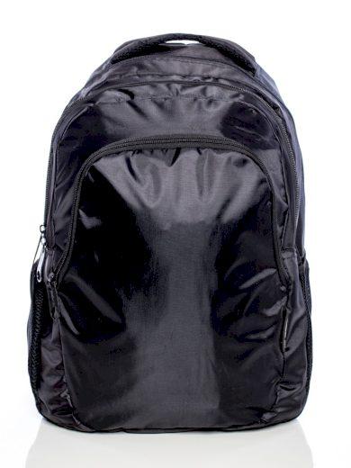 ČERNÝ ŠKOLNÍ BATOH 15-699R-BLACK Velikost: ONE SIZE
