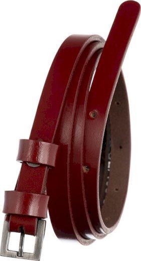 ROVICKY ČERVENÝ ÚZKÝ DÁMSKÝ OPASEK PRD-1-N-105-0249 RED Velikost: ONE SIZE