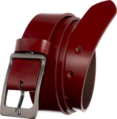 ROVICKY ČERVENÝ DÁMSKÝ HLADKÝ OPASEK PRD-3-N-105-0362 RED Velikost: ONE SIZE